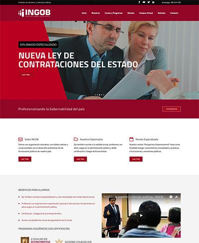 INGOB | INSTITUTO DE GOBIERNO Y CIENCIAS JURÍDICAS